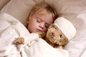 Симптомы сотрясения головного мозга у ребенка